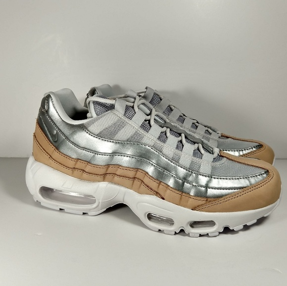 ede2eee6a2 Nike Shoes | Womens Air Max 95 Pure Platinum Sz 8510 | Poshmark